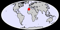 29.74 N, 7.38 W Global Context Map