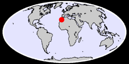29.74 N, 9.23 W Global Context Map
