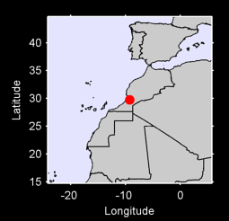29.74 N, 9.23 W Local Context Map