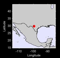 29.74 N, 99.69 W Local Context Map