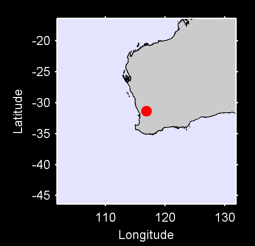 31.35 S, 116.86 E Local Context Map