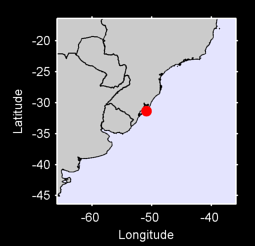 31.35 S, 50.89 W Local Context Map
