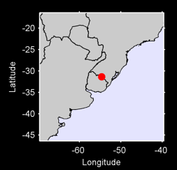 31.35 S, 54.66 W Local Context Map
