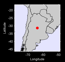 31.35 S, 64.08 W Local Context Map