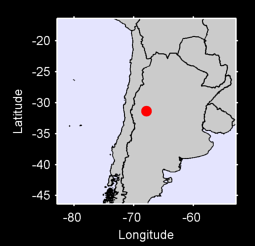 31.35 S, 67.85 W Local Context Map