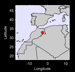 32.95 N, 2.87 W Local Context Map