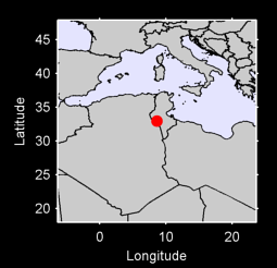 32.95 N, 8.62 E Local Context Map
