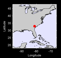 32.95 N, 81.38 W Local Context Map