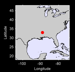 32.95 N, 89.04 W Local Context Map