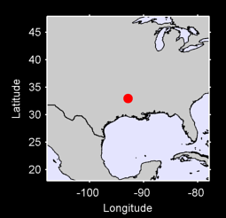 32.95 N, 92.87 W Local Context Map