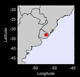 32.95 S, 54.57 W Local Context Map