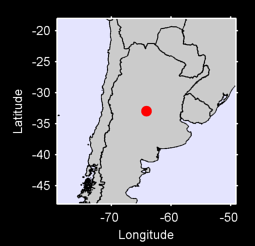 32.95 S, 64.15 W Local Context Map