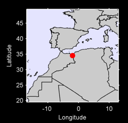 34.56 N, 1.95 W Local Context Map