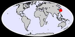 34.56 N, 132.32 E Global Context Map