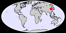 36.17 N, 119.34 E Global Context Map