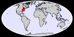 36.17 N, 79.56 W Global Context Map