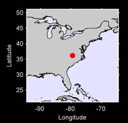 36.17 N, 79.56 W Local Context Map