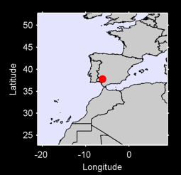 37.78 N, 6.10 W Local Context Map
