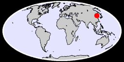 39.38 N, 124.86 E Global Context Map