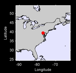 39.38 N, 76.99 W Local Context Map