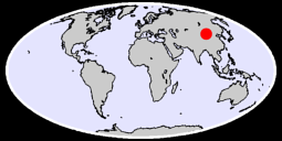 40.99 N, 104.38 E Global Context Map