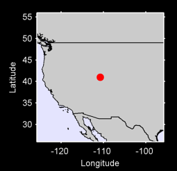 40.99 N, 110.77 W Local Context Map