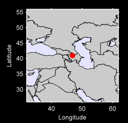 40.99 N, 46.86 E Local Context Map