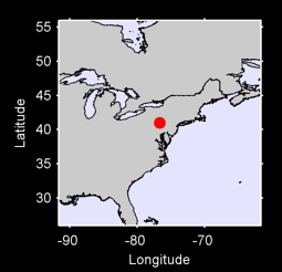 40.99 N, 76.69 W Local Context Map