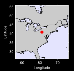 40.99 N, 78.82 W Local Context Map
