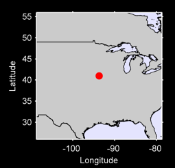 40.99 N, 93.73 W Local Context Map