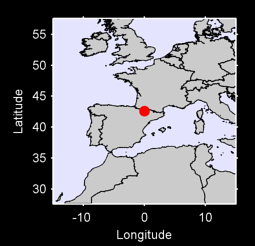 42.59 N, 0.00 W Local Context Map