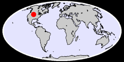42.59 N, 104.73 W Global Context Map