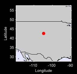 42.59 N, 104.73 W Local Context Map