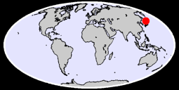 42.59 N, 144.00 E Global Context Map