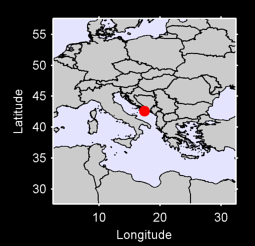 42.59 N, 17.45 E Local Context Map