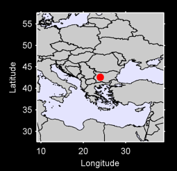 42.59 N, 24.00 E Local Context Map