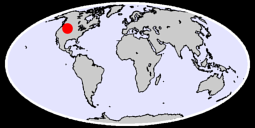 44.20 N, 109.57 W Global Context Map