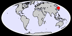44.20 N, 145.34 E Global Context Map