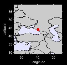 44.20 N, 40.25 E Local Context Map