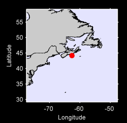 44.20 N, 62.61 W Local Context Map