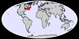 44.20 N, 64.84 W Global Context Map