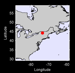 44.20 N, 73.79 W Local Context Map