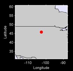 45.81 N, 102.69 W Local Context Map