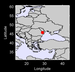 45.81 N, 28.85 E Local Context Map