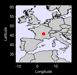 45.81 N, 3.46 E Local Context Map