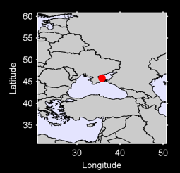 45.81 N, 35.77 E Local Context Map