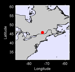 45.81 N, 72.69 W Local Context Map