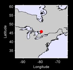 45.81 N, 79.62 W Local Context Map