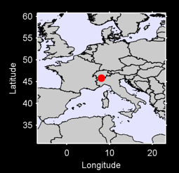 45.81 N, 8.08 E Local Context Map
