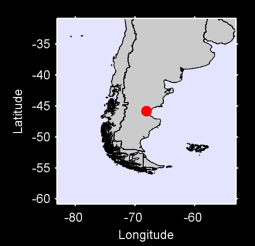 45.81 S, 68.08 W Local Context Map